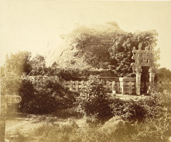Northern view of Sanchi Tope